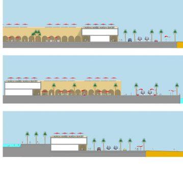 Davis Landscape Architecture Al Wakrah Waterfront Competition Qatar Masterplan Landscape Architect Sections C