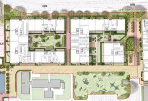 181025 Davis Landscape Architecture Gascoigne West Barking London Residential Masterplan Landscape Architect Design Outline Planning Render Detail