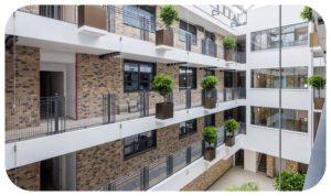 Davis Landscape Architecture Carlow House Camden London Residential Atrium Landscape Architect Technical Design Pots CompleteIcon