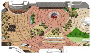 Davis Landscape Architecture Centenary Square Birmingham Competition Masterplan Landscape Architect Public Realm Visualisation Icon
