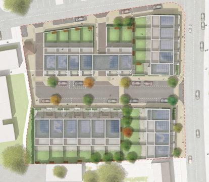 Davis Landscape Architecture Kingsbridge Barking London Render Plan Residential Landscape Architect Design