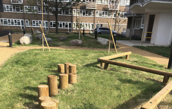 Davis Landscape Architecture Summit Court Kilburn Brent London Residential Play Landscape Architect Design Complete