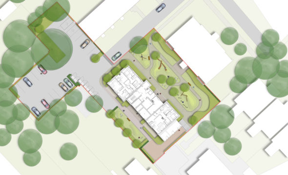 Davis Landscape Architecture Summit Court Kilburn Brent London Residential Play Landscape Architect Design Planning Masterplan