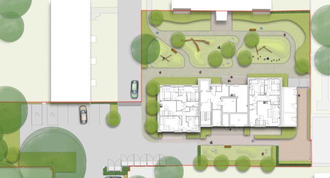 Davis Landscape Architecture Summit Court Kilburn Brent London Residential Play Landscape Architect Design Planning Masterplan Detail