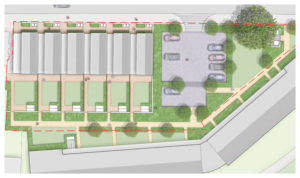Davis Landscape Architecture Marnock Road Lewisham London Render Plan Residential Landscape Architect Design Planning Icon