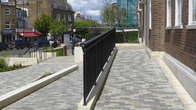 Davis Landscape Architecture Maritime House Clapham London Office Landscape Architect Design Ramped Access