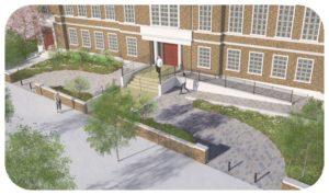Davis Landscape Architecture Maritime House Clapham London Render Visualisation Office Landscape Architect Design Icon