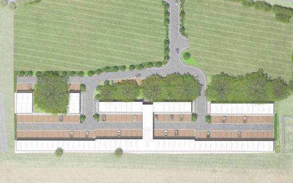 Davis Landscape Architecture Evolve Colchester Essex Render Masterplan Office Landscape Architect Design