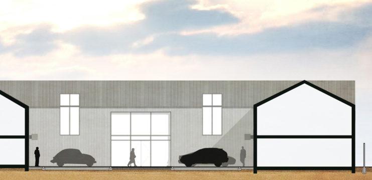 Davis Landscape Architecture Evolve Colchester Essex Render Section Office Landscape Architect Design 2