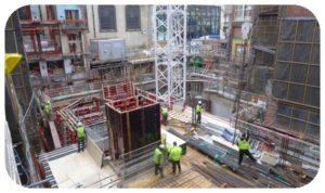 160219 Garlick Hill Hotel Vintry and mercer Construction start