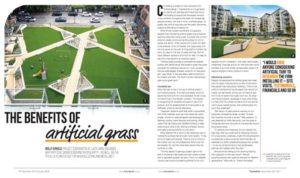St Luke's Square Designed by Landscape Architect Davis Landscape Architecture in FutureArch Magazine