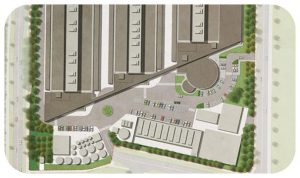 Davis Landscape Architecture Equinix Data Centre Blanchardstown Dublin Ireland Commercial Masterplan Render Landscape Design Detailed Planning Tender Icon