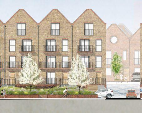 Davis Landscape Architecture Leatherhead Road Chessington Kingston London Render Elevation Residential Landscape Architect 2