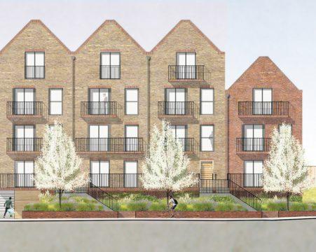 Davis Landscape Architecture Leatherhead Road Chessington Kingston London Render Elevation Residential Landscape Architect 3