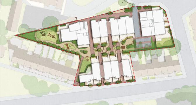 Davis Landscape Architecture Leyton Green Road Walthamstow Render Plan Residential Landscape Architect Design