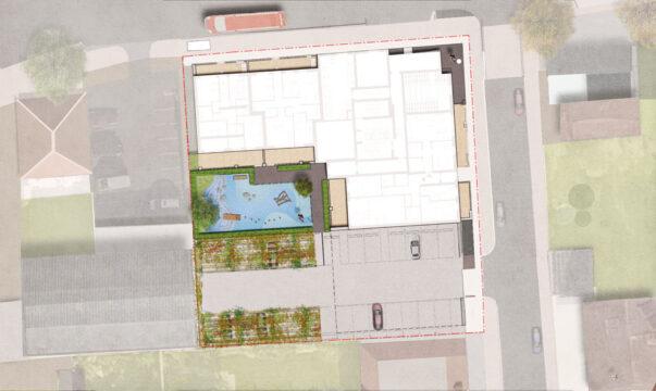 Davis Landscape Architecture Westmead Road Carshalton Sutton London Render Plan Residential Landscape Architect Design