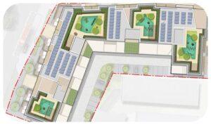 Davis Landscape Architecture Coral London Road Romford Havering London Residential Landscape Architect Roof Garden Design Rendered Plan Planning Icon