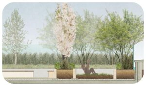 Davis Landscape Architecture High Street Sutton London Render Section Residential Commercial Residential Landscape Architect Landscape Design Planning Icon